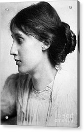 Virginia Woolf (1882-1941) Acrylic Print