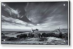 Acrylic Print featuring the photograph Virxe Do Porto Meiras Galicia Spain by Pablo Avanzini