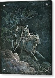 Vision Of Death Acrylic Print by Granger