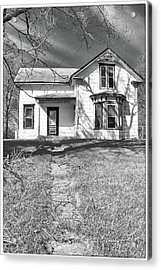 Visiting The Old Homestead Acrylic Print