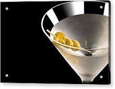Vodka Martini Acrylic Print by Ulrich Schade