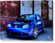 Volkswagen R32 Acrylic Print by Jonathan Davison