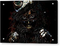 Voodoo Woman Acrylic Print by Hugh Smith