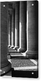 Waiting At St Peters Acrylic Print