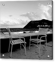 Waiting Acrylic Print by Ian  MacDonald