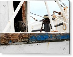 Waiting On His Best Friend Acrylic Print