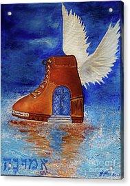 Walk By Faith Acrylic Print