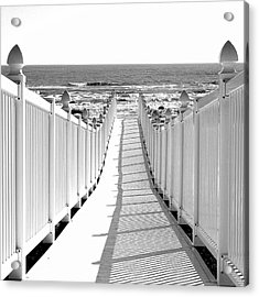 Walkway To Beach Acrylic Print