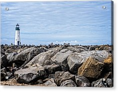 Walton Lighthouse Acrylic Print by James Hammond