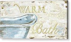 Warm Bath 2 Acrylic Print by Debbie DeWitt