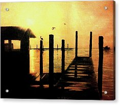 Warm Waters Acrylic Print by Travis  Ragan