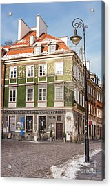 Acrylic Print featuring the photograph Warsaw, Poland by Juli Scalzi