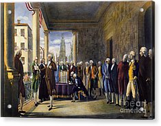 Washington: Inauguration Acrylic Print by Granger