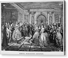 Washington Reception Acrylic Print by Granger