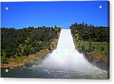 Acrylic Print featuring the photograph Water by AJ Schibig