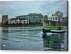 Water Bus Acrylic Print by Anastasia Michaels