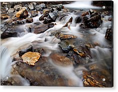 Water On The Rocks Acrylic Print