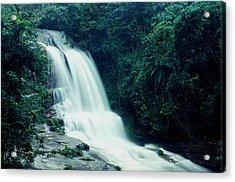 Waterfall Acrylic Print by Amarildo Correa