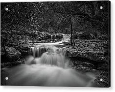 Waterfall In Austin Texas Acrylic Print
