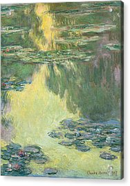 Waterlilies 1907 Acrylic Print