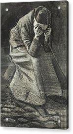 Weeping Woman Acrylic Print