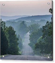 Welch Road In Glen Arbor Acrylic Print