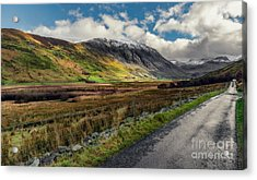 Welsh Valley Acrylic Print