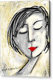 Wendy Acrylic Print by Elaine Lanoue