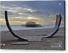 West Pier Brighton Acrylic Print