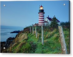 West Quoddy Head Light Acrylic Print
