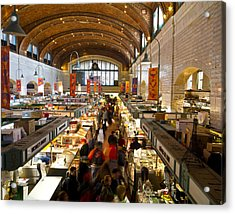 West Side Market  Acrylic Print by Tim Fitzwater