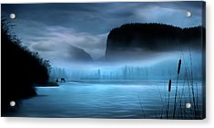 Acrylic Print featuring the photograph While You Were Sleeping by John Poon