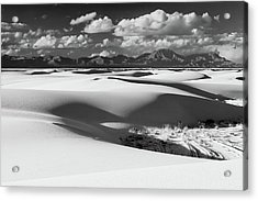 White Sands Afternoon Acrylic Print