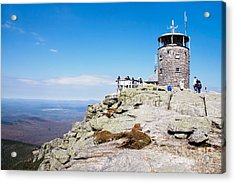 Whiteface Mtn. Tower Lookout Acrylic Print