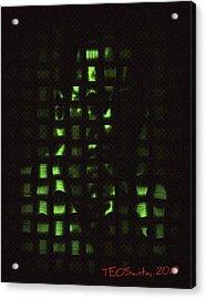 Who Am I   Series 3 Acrylic Print by Teodoro De La Santa