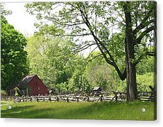 Wick Farm At Jockey Hollow Acrylic Print