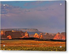 Wide-open Spaces - Page Arizona Acrylic Print by Christine Till