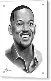 Will Smith Acrylic Print