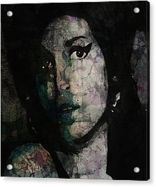 Will You Still Love Me Tomorrow Acrylic Print by Paul Lovering