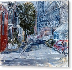 Williamsburg2 Acrylic Print by Joan De Bot