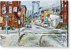 Williamsburg3 Acrylic Print by Joan De Bot