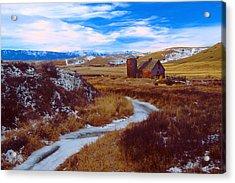 Willow Creek Barn Acrylic Print
