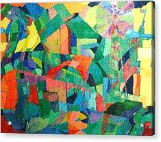 Windmills Of The Mind Acrylic Print