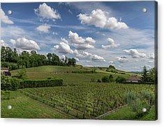 Summer Wine Country Acrylic Print