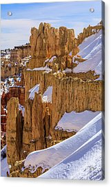 Winter Blanket   Acrylic Print by James Marvin Phelps