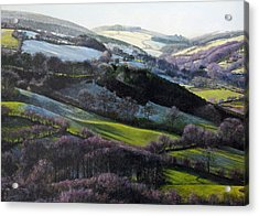 Winter In North Wales Acrylic Print by Harry Robertson