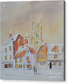 Winter In Tenterden Acrylic Print