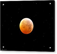 Winter Solstice Lunar Eclipse 2010 Acrylic Print by Kevin Munro