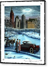 Winter Wonderland Acrylic Print by Tracy Dennison