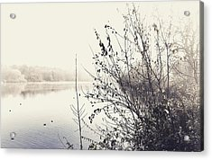 Winter's Morning At The Mote  Acrylic Print by Stuart Ellesmere